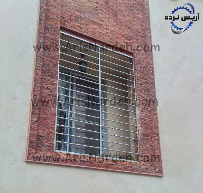 حفاظ پنجره استيل